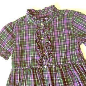 Sz6 Ralph Lauren Dress 💜💚🖤